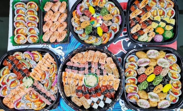 中秋派對壽司餐盒熱賣中。炙燒美乃滋鮭魚鮮甜恰到好處|多種口味一次大滿足