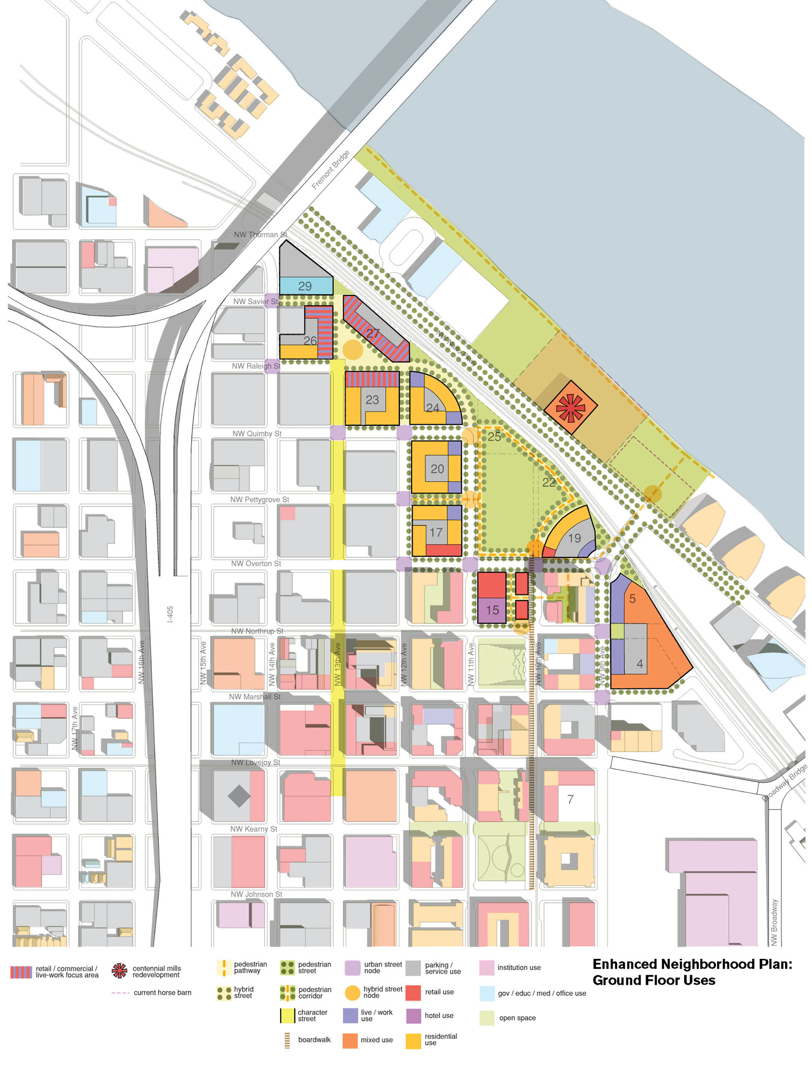 North Pearl District Master Plan and LEED ND  Bora