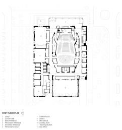 texas christian university school of music arts precinct plan [ 1600 x 1600 Pixel ]
