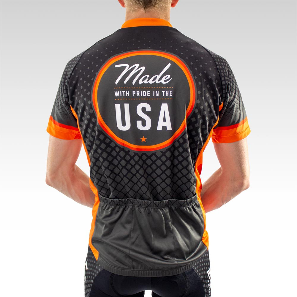 Team Cycling Jersey Back