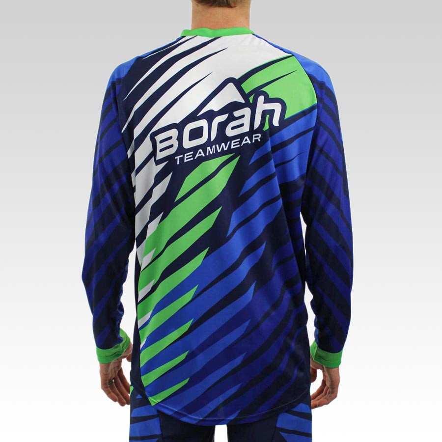 Freeride Long Sleeve MTB Jersey - Back