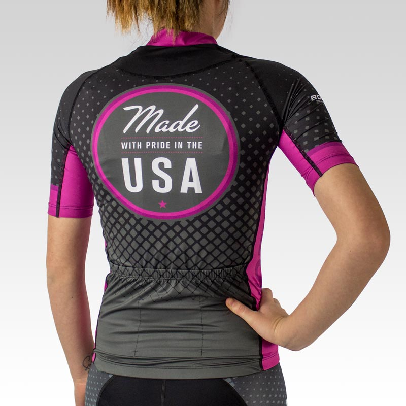 Women's OTW Tour Cycling Jersey - Back
