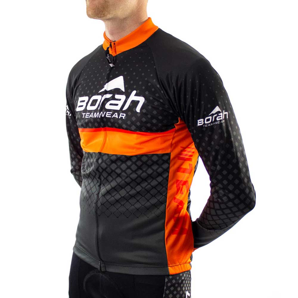 Custom Team Long Sleeve Cycling Jersey