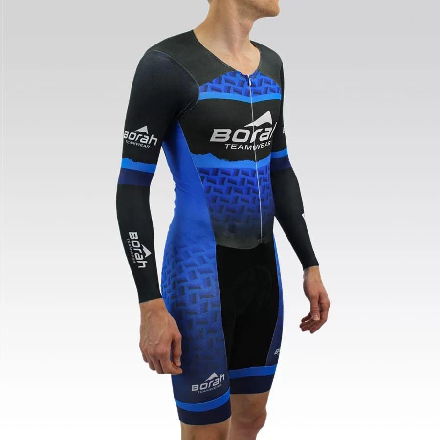 OTW Long Sleeve Cycling Skin Suit Gallery3