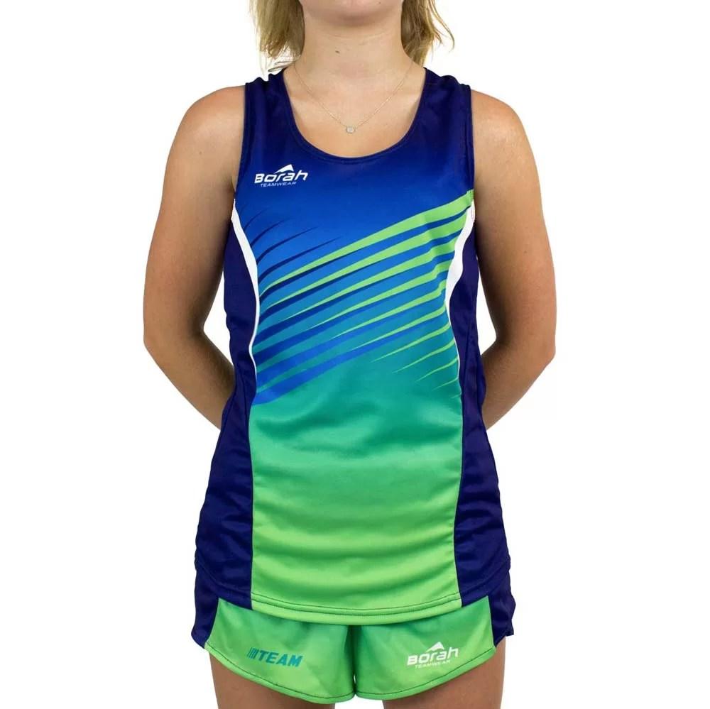 Custom Women's Team Running Singlet