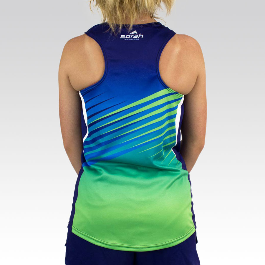 Women's Team Running Singlet Gallery3