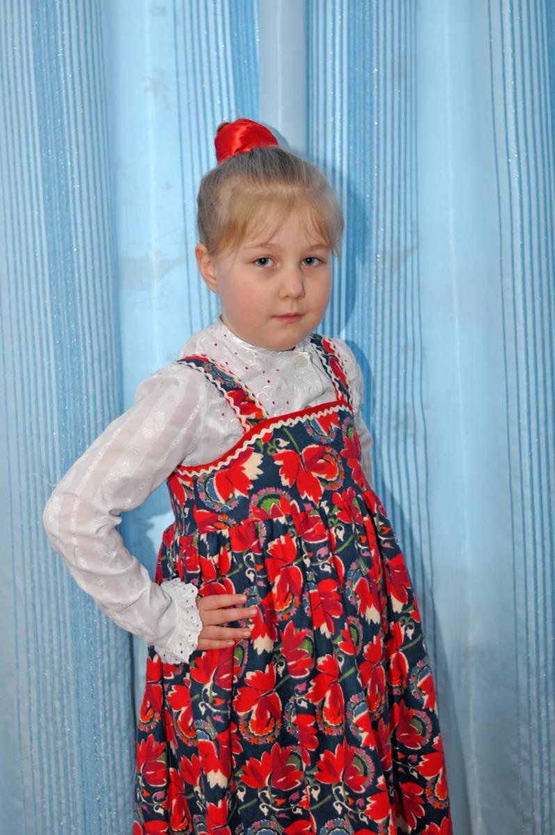 Юдина Алена 6 лет
