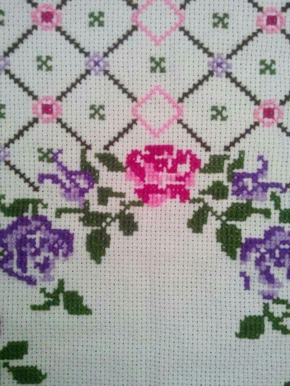Exemplo Lilás com Rosa