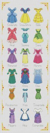 Vestidos das princesas