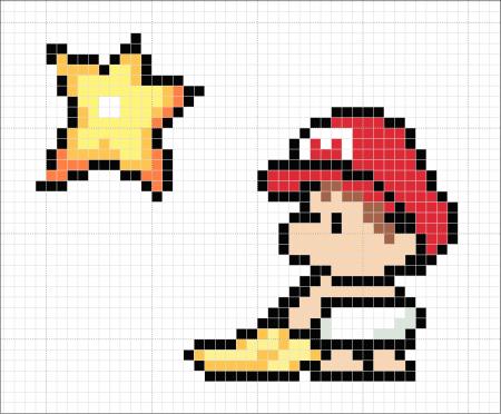 Mario Bros Bebê