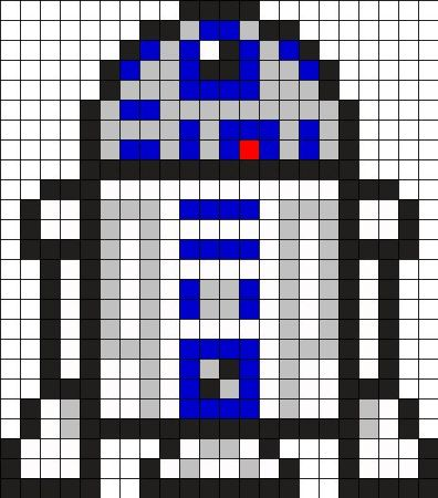 r2d2 star wars ponto cruz 1