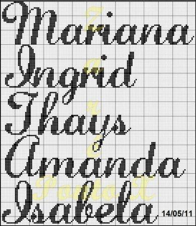 Mariana Ingrid Thays Amanda Isabela