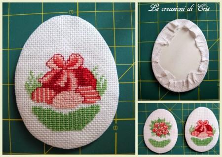 PAP Ovos Decorativos para a Páscoa BordadoPontoCruz 03