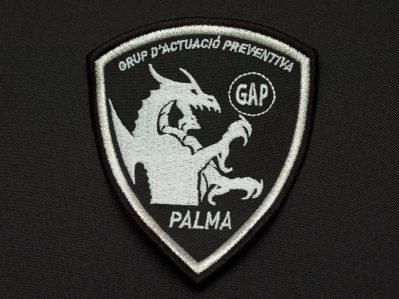 escudo unidad especial policía local palma de mallorca