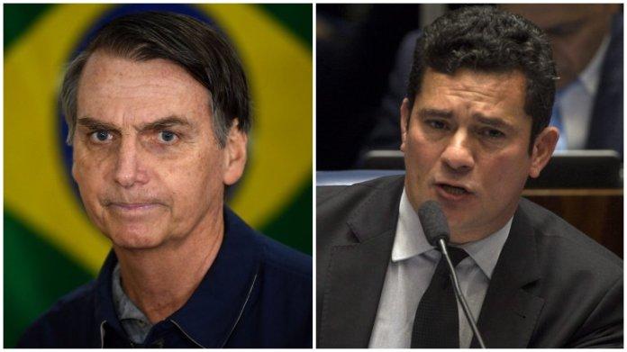 bolsonaro moro 1 Brasil. Juiz Sérgio Moro aceita ser ministro da Justiça de Bolsonaro