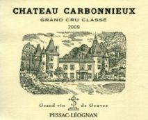 chateau-carbonnieux-Pessac-leognan-2009-etiquette