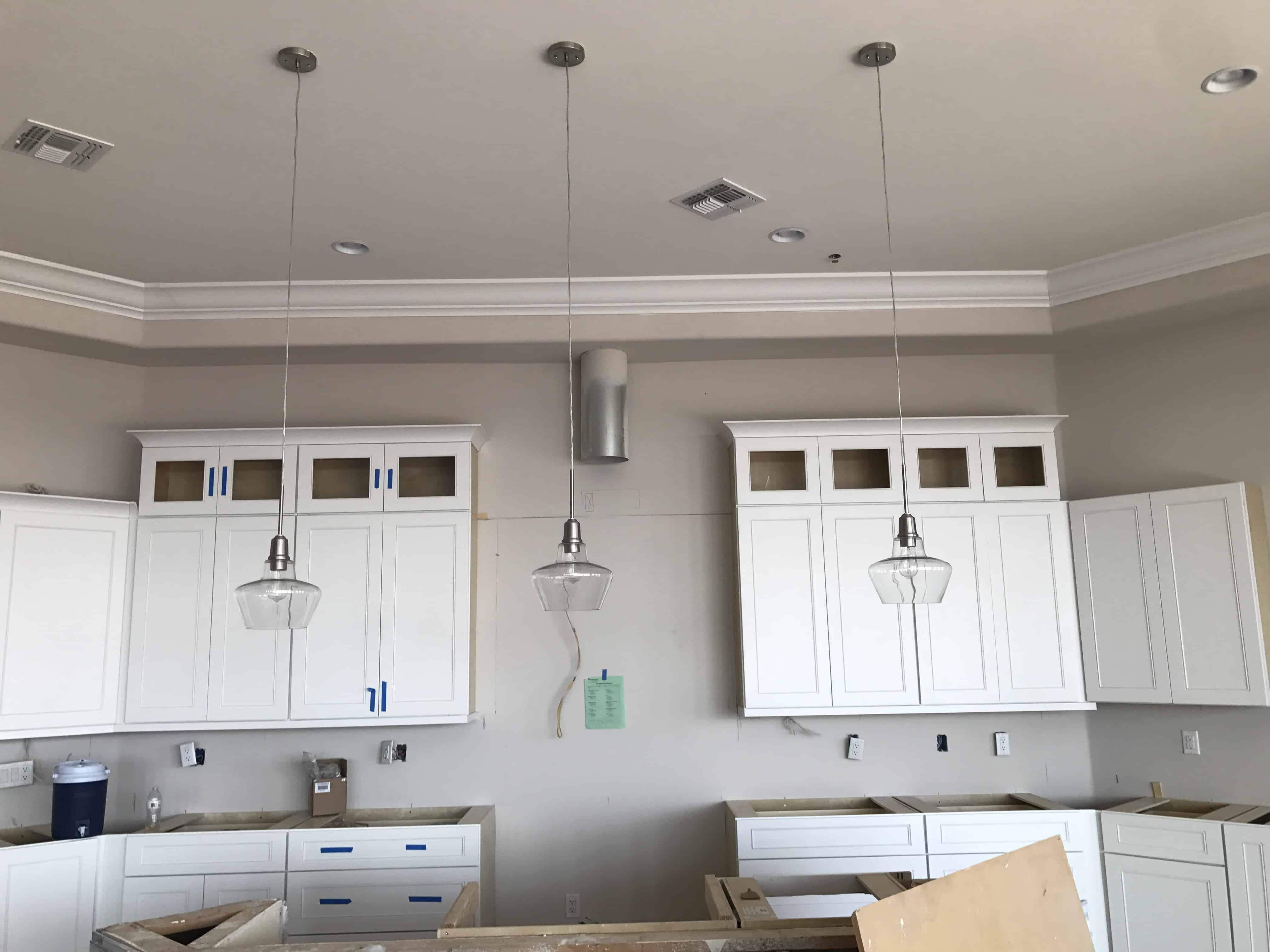Custom Kitchen Pendant Lighting