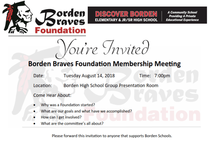 bbf invite