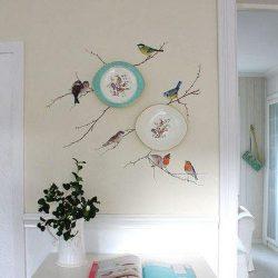 Vogeltjes op je muur