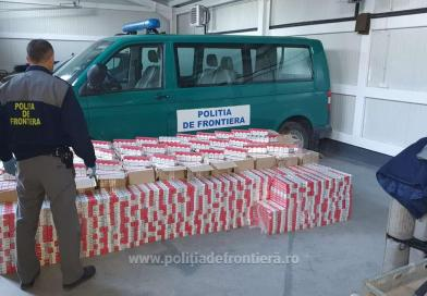 Over 22,000 packs of cigarettes discovered and confiscated at the northern border