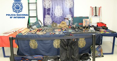 Spanish National Police dismantles a traveling organization of Albanian-Kosovar origin specialized in the commission of robberies