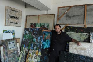 Jaime Ruiz Otis, artist, Tijuana. © Stefan Falke http://www.stefanfalke.com/