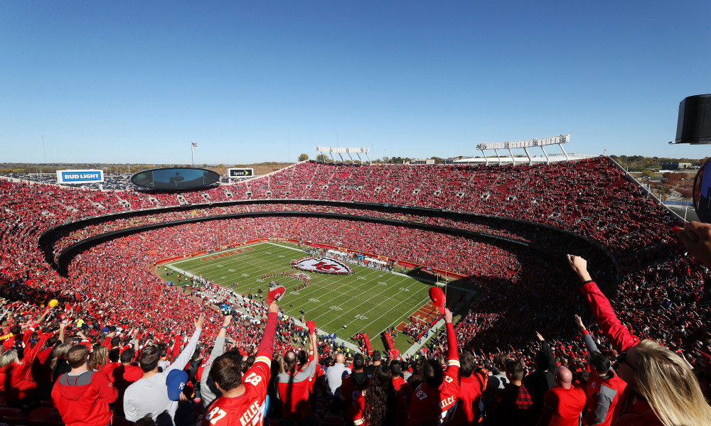 The Top Five NFL Stadiums
