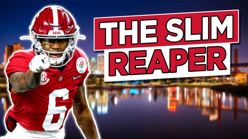 """""""Devonta Smith Is a Monster, But is His Size a Problem?"""" Video and Video Guide"""