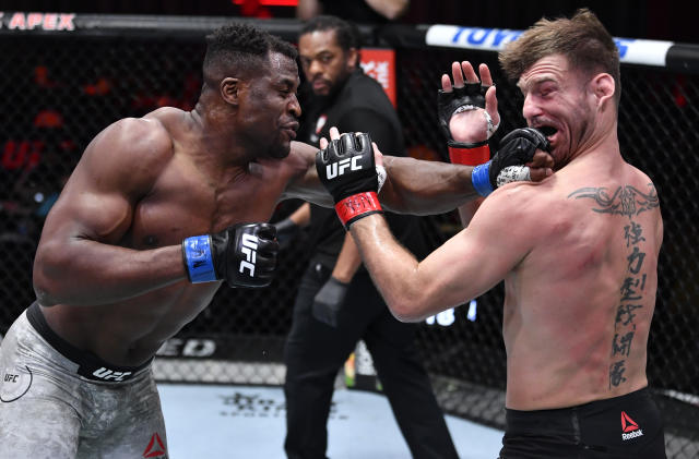 The UFC Sucker Punches Francis Ngannou