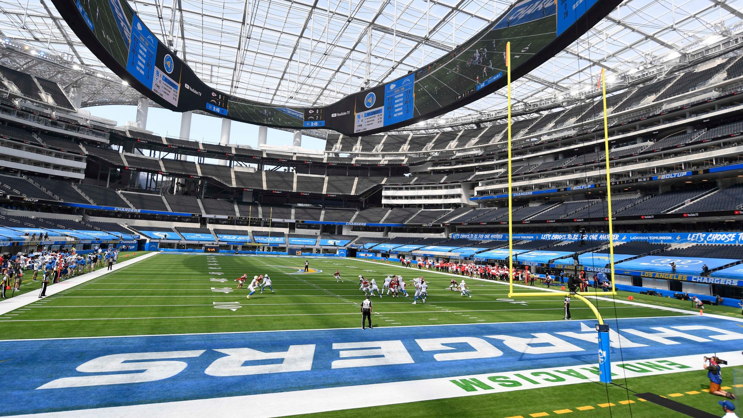 Los Angeles May Be Ground Zero For Football In 2021