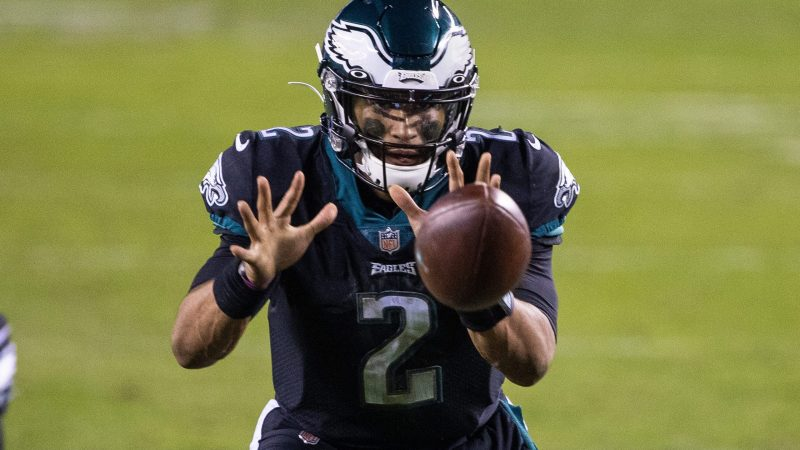 Jalen Hurts led Philly to an upset victory over Atlanta in Week 1.