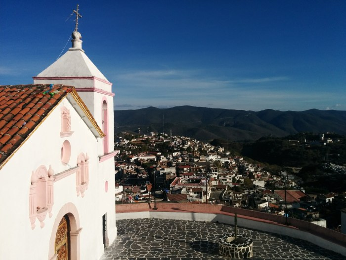 Pink church Taxco