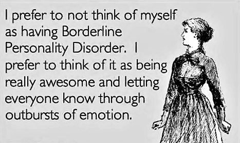 BORDERLINE PERSONALITY DISORDER COMPLEXITY
