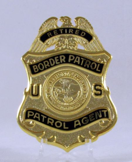 USBP Retired DOJ Badge - Misc Gifts