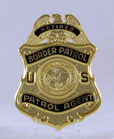 USBP Retired DOJ Badge - Misc Gifts