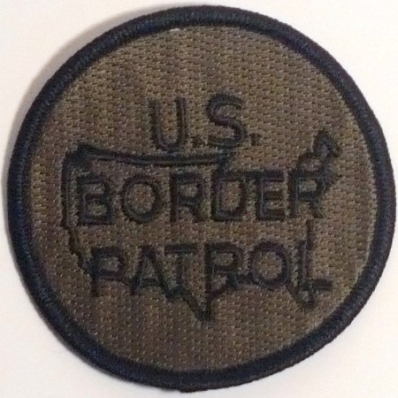 USBP Logo Patch (Subdued) - Patches / Decals