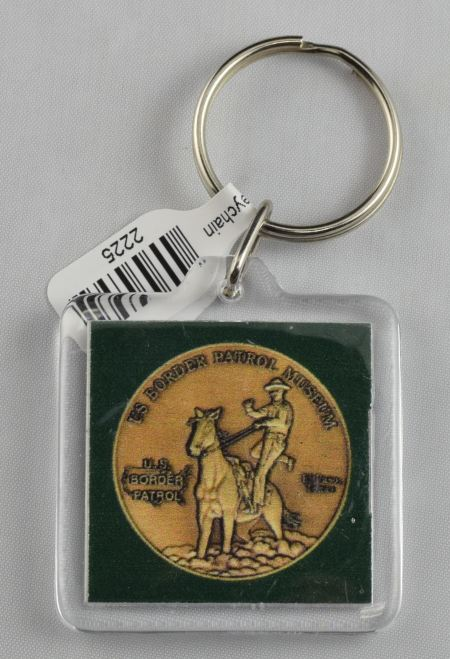 Border Patrol Museum Keychain - Key Chains