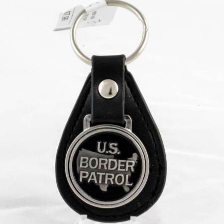 USBP LEATHER K/R - Key Chains