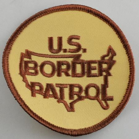 Tan / Brown BP Logo Patch 2 1/2 - Patches / Decals