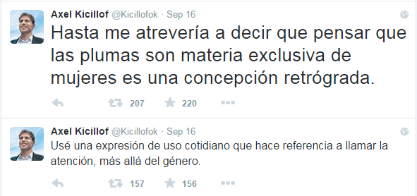 Tuits de Kicillof