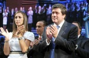¿Georgina Mendeguía recomienda gente a su esposo Mariotto en el Senado?