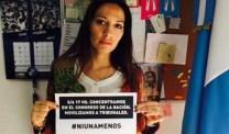La diputada Mendoza apoyó a #NiUnaMenos. Pero también calló.