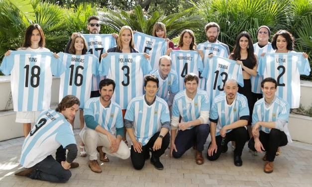 Las estrellas de Netflix, de paso por Argentina