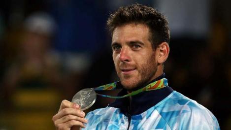 Histórico: el único tenista doble medallista olímpico.