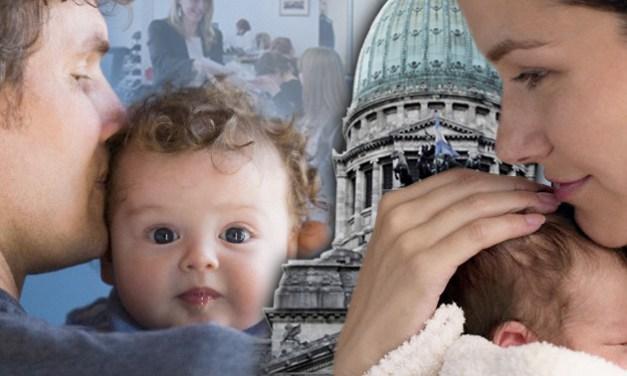 Avanza un proyecto de consenso para extender las licencias por maternidad y paternidad