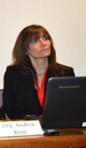 Andrea Rossi, presidenta del grupo CAHT, cuestiona la ley.