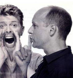 Junto a Bowie.