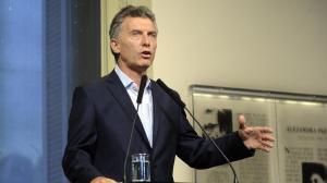 Mauricio Macri, el martes, en conferencia de prensa.