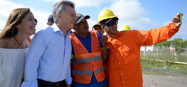Obras en campaña: El Gobierno destina el 58% de fondos para urbanización de barrios al Conurbano