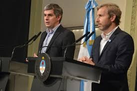 Peña y Frigerio quieren cuidar las obras.
